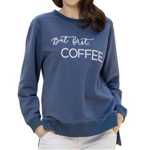 "NEW ""But 1st Coffee"" Statement Sweatshirt"